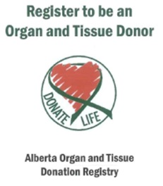 Alberta Organ and Tissue Donation Registry